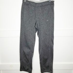 Men's Nike Gray Therma Fit Sweatpants Medium Poly